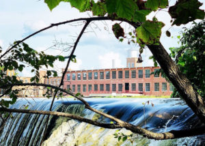 Power House Rocky Mount Mills Waterfall