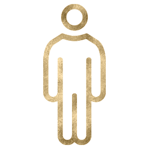 Power House Person Icon