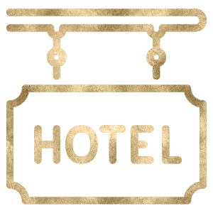 Power House Hotel Sign Icon