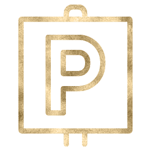 Power House Parking Sign Icon