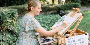 Power House Blog Wedding Painting